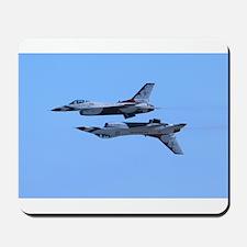 Airshow, USAF, Thunderbirds Mousepad