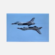 Airshow, USAF, Thunderbirds Rectangle Magnet
