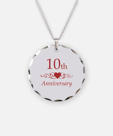 10th Wedding Anniversary Necklace