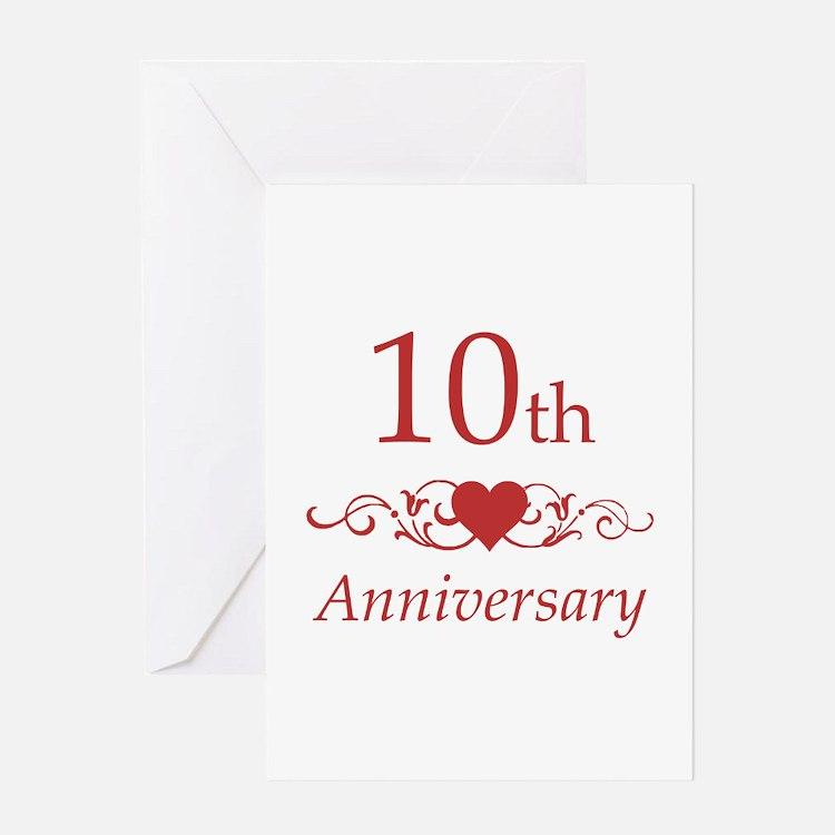 10 Year Wedding Anniversary Quotes: 10 Year Anniversary Greeting Cards