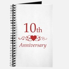 10th Wedding Anniversary Journal