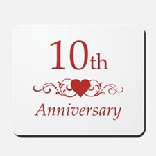 10th Wedding Anniversary Mousepad