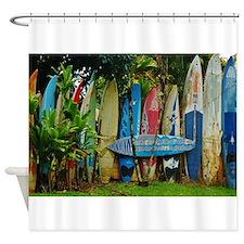 Hawaii Surf Shower Curtain