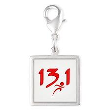 Red 13.1 half-marathon Charms