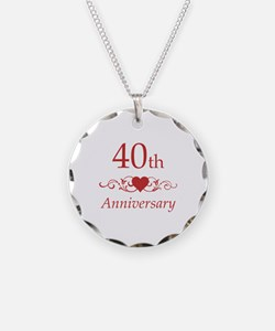 40th Wedding Anniversary Necklace