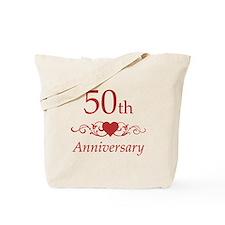 50th Wedding Anniversary Tote Bag