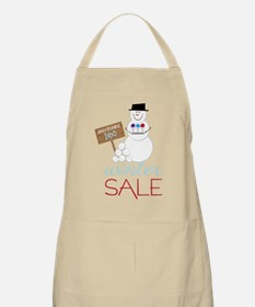 Winter Sale Apron