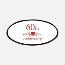 60th Wedding Anniversary Patches