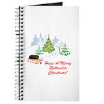 Rottweiler Christmas Journal