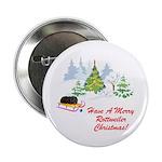 Rottweiler Christmas Button