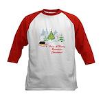 Rottweiler Christmas Kids Baseball Jersey