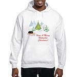 Rottweiler Christmas Hooded Sweatshirt