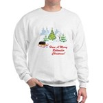 Rottweiler Christmas Sweatshirt