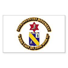 COA - 54th Infantry Regiment Decal
