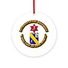 COA - 54th Infantry Regiment Ornament (Round)