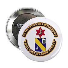 """COA - 54th Infantry Regiment 2.25"""" Button (100 pac"""