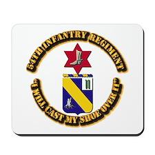COA - 54th Infantry Regiment Mousepad