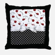Little Ladybug Throw Pillow