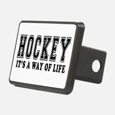 Hockey It's A Way Of Life Hitch Cover
