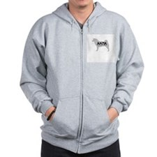 Akita - Not Just a Dog! Zip Hoodie