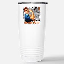 Rosie Keep Calm RSD Stainless Steel Travel Mug