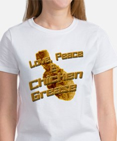 Love, Peace, and Chicken Grease T-Shirt
