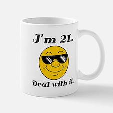 21st Birthday Deal With It Mug