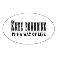 Knee Boarding It's A Way Of Life Decal