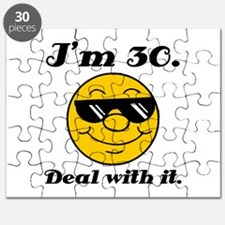 30th Birthday Deal With It Puzzle