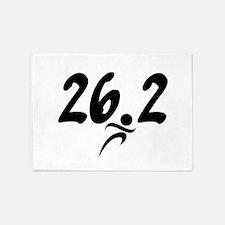 26.2 marathon 5'x7'Area Rug