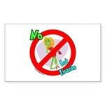 Lot Lizard Warning Sign Sticker