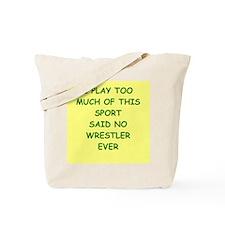 WRESTLER Tote Bag
