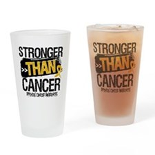 Stronger Than Appendix Cancer Drinking Glass
