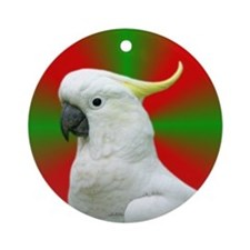 Cockatoo Holiday / Christmas Ornament