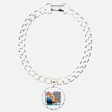 Rosie Keep Calm Thyroid Cancer Bracelet