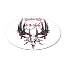 Trophy Wife pink Wall Decal