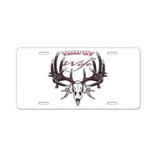 Trophy Wife pink Aluminum License Plate