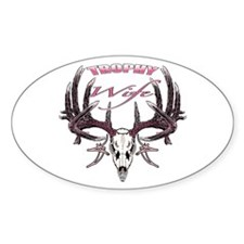 Trophy Wife pink Decal