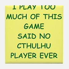 cthulhu Tile Coaster
