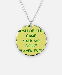 bocce Necklace