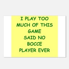 bocce Postcards (Package of 8)