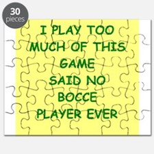 bocce Puzzle