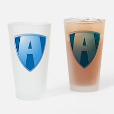 Super A Design Drinking Glass
