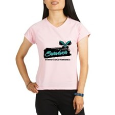 Ovarian Cancer Survivor Performance Dry T-Shirt