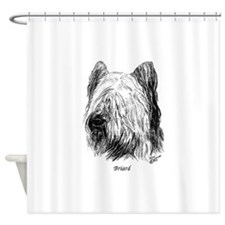 Briard Shower Curtain