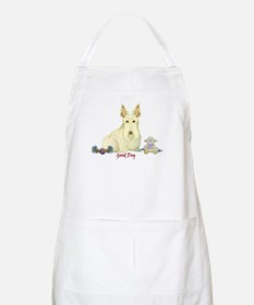 """Good Dog"" Wheaten Scottie BBQ Apron"