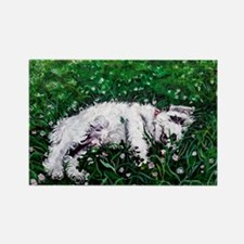 Sealyham Terrier Rectangle Magnet