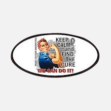 Rosie Keep Calm Brain Cancer Patches