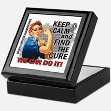 Rosie Keep Calm Brain Cancer Keepsake Box