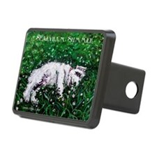 Sealyham Summer Terrier Hitch Cover